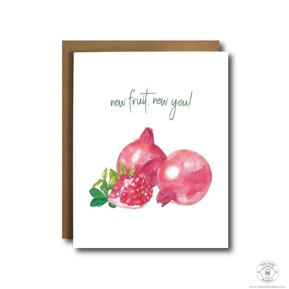 Cute Rosh Hashanah Cards Jewish New Year Cards New Fruit