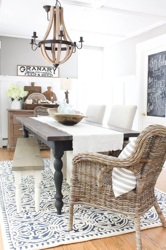 New Dining Room Rug  Rooms For Rent Blog  The Inspiration Prepossessing Dining Room Rugs Inspiration