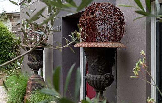 Gartendeko selber machen DIY Gartenkugeln - fresHouse Garten - gartendeko aus metall selber machen