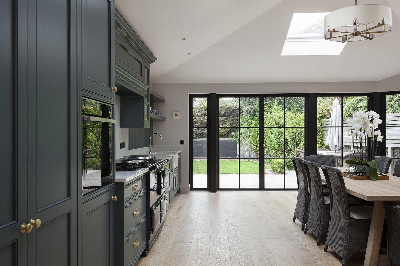 Green Painted Inframe Kitchen Kitchen design, Bespoke