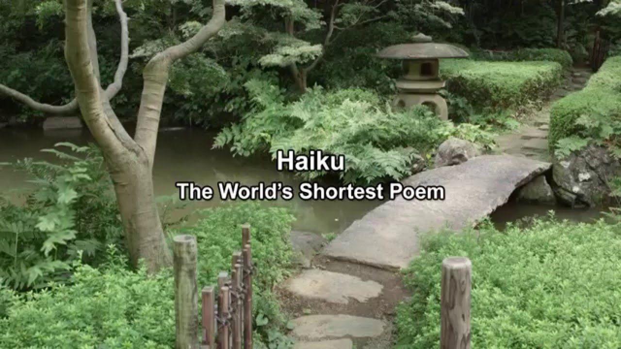 Haiku The World's Shortest Poem
