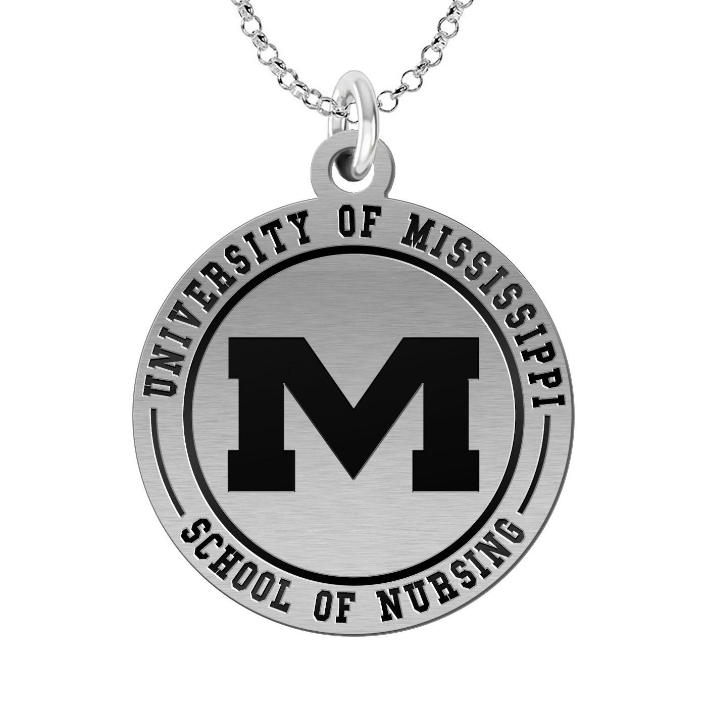 University of Mississippi School of Nursing Charm ; Ole
