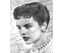 How To Use Hair Straightener Cream 1950s Hairstyles Vintage Short Hair 1950s Hairstyles Short