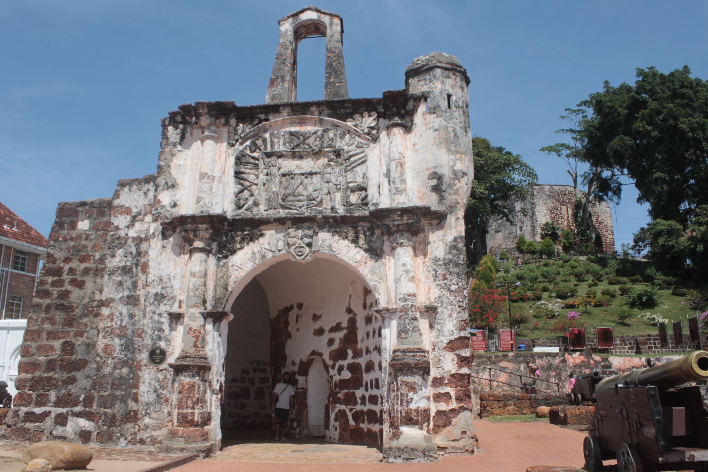 A Famosa Porta de Santiago