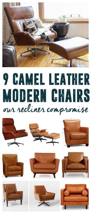 Living Room Leather Chairs Bedroom Chair Design Ideas Image The Perfect Camel Armchair Modern Tan Mcm Mid Century Www Brightgreendoor Com