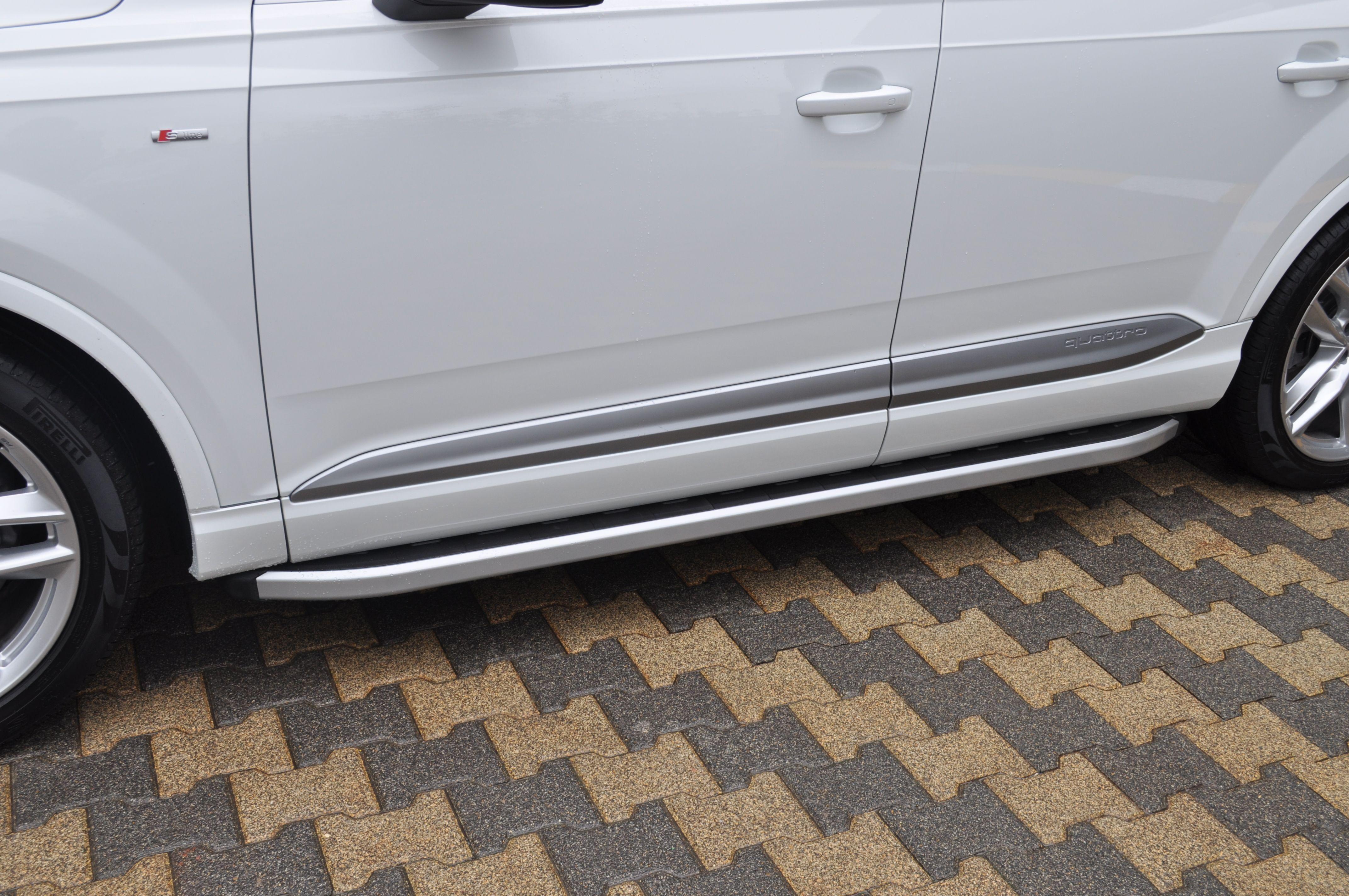 Praguri Laterale Audi Q7 15 Prezent Arp Newstar Gri Audi
