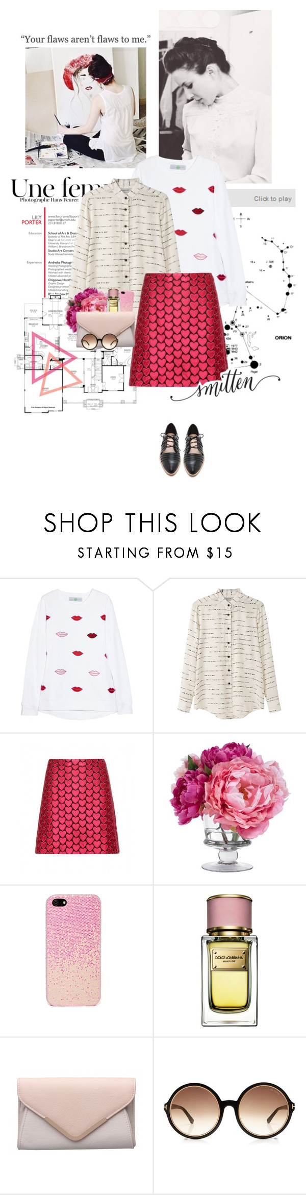 """Your flaws aren't flaws to me."" by sarahstardom ❤ liked on Polyvore featuring STELLA McCARTNEY, Rachel Comey, Alice + Olivia, Diane James, Dolce&Gabbana, Tom Ford and Loeffler Randall"