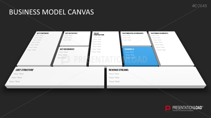 Business Model Canvas Ppt  Canvas    Canvases