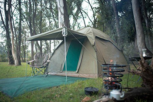 Alpha Kilo 4000 Canvas 6 Person Bow Tent camping tent and