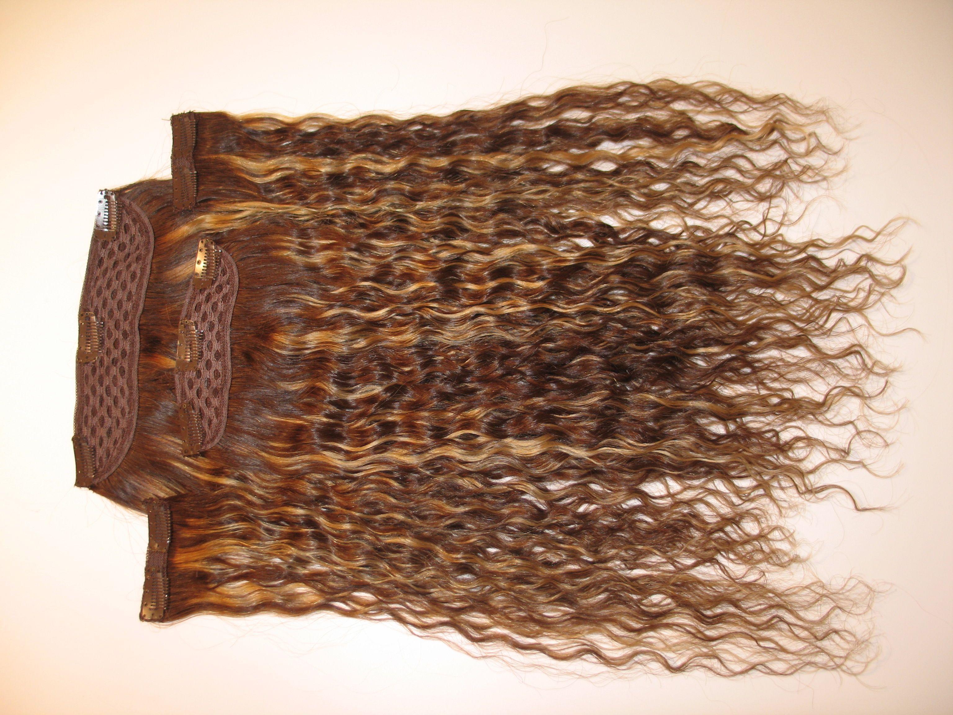 100 Dogal Saclar Style Sac Yarimay Citcit Naturalhair Dogal