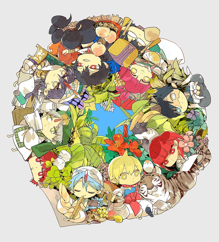 Art by shishio* Anime magi, Magi kingdom of magic, Magi