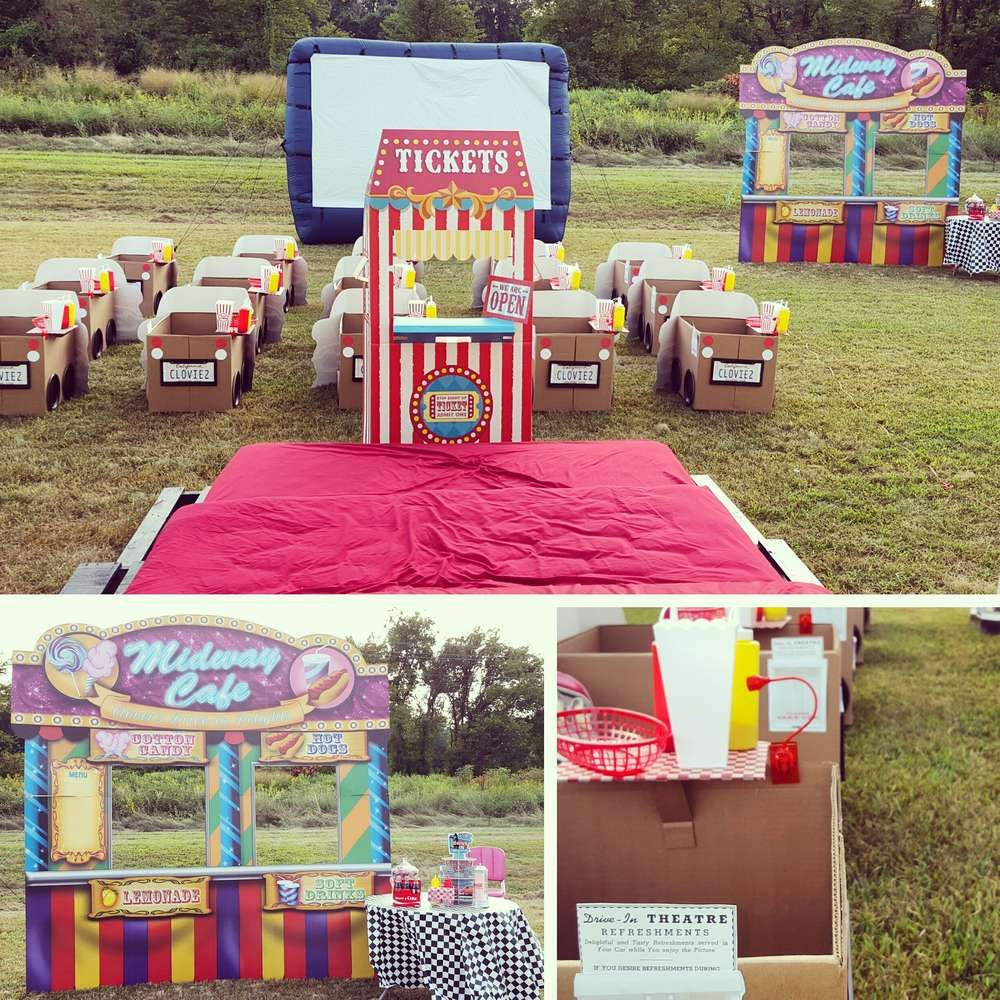 1950's Drivein Birthday Party Ideas Photo 1 of 6
