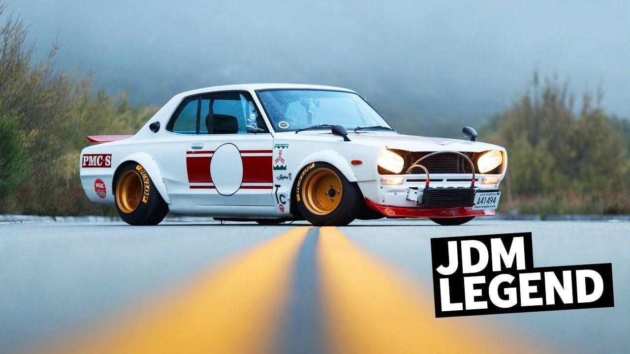1972 Nissan Skyline Hakosuka: Larry Drives a JDM Legend ...  1972 Nissan Skyline Jdm
