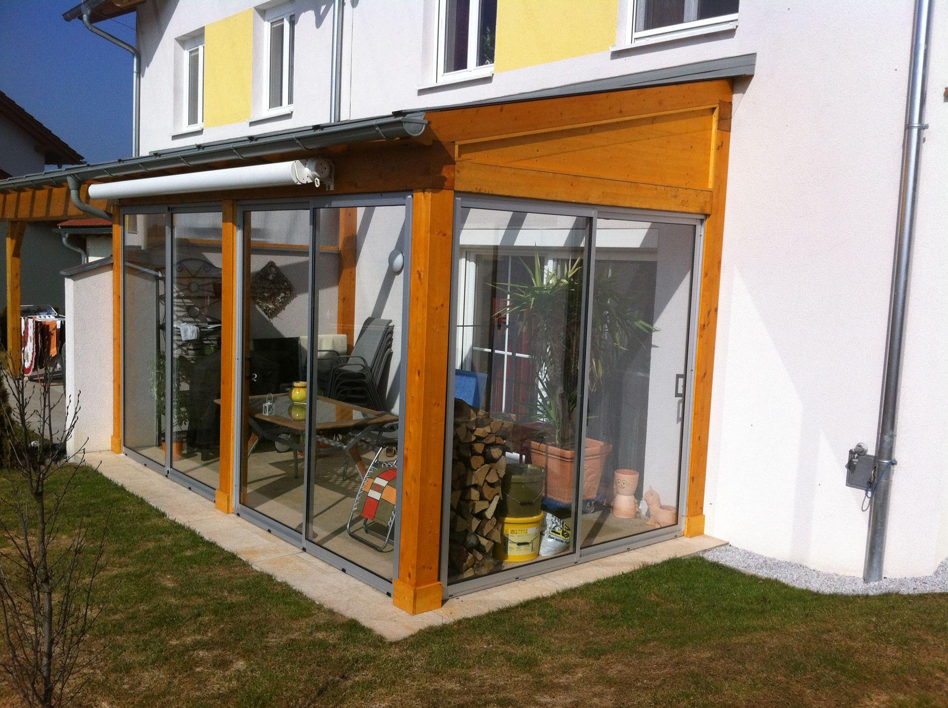 Holz Aluminium Wintergarten Mit Schiebeturen Wintergarten Schmidinger Wintergarten Holz Wintergarten Uberdachung Terrasse