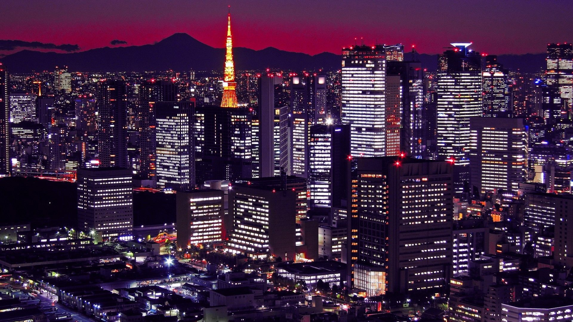 Image for Japan City Lights Beautifull HD cositas que me