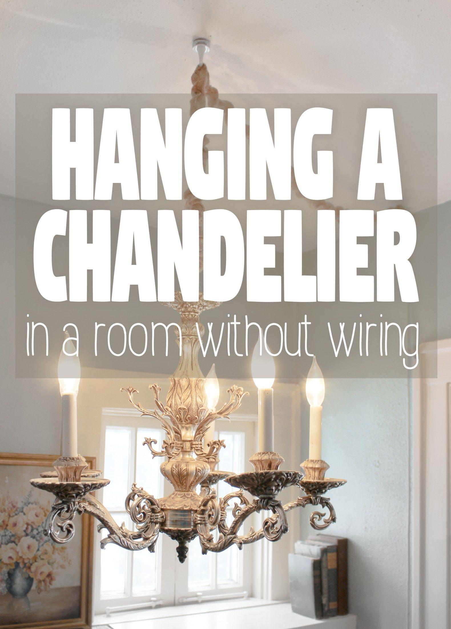 How To Hang A Light Fixture