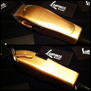 All Gold Andis By Lawrence The Barber Barber Clippers Barber