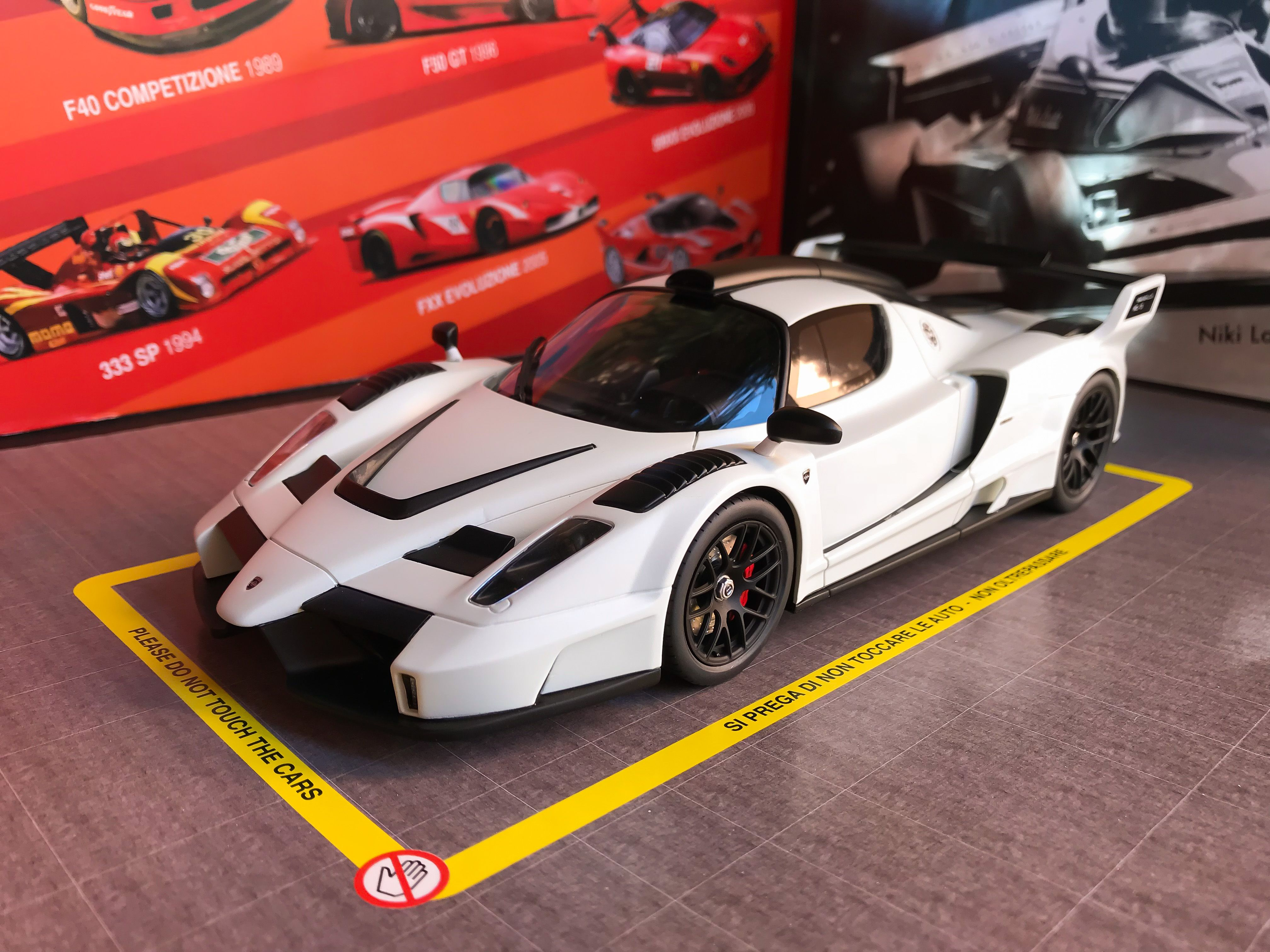 Ferrari Gemballa MIG U1 by GT Spirit 1 18