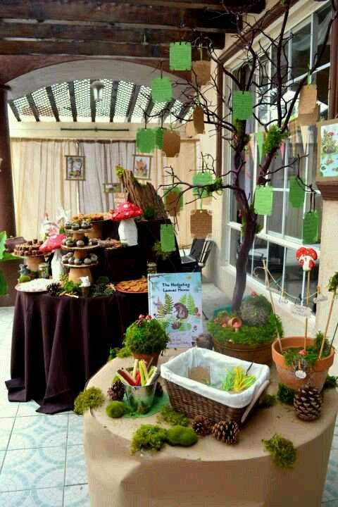 WOODLANDS BABY SHOWER | Woodland Baby Shower | Party Ideas