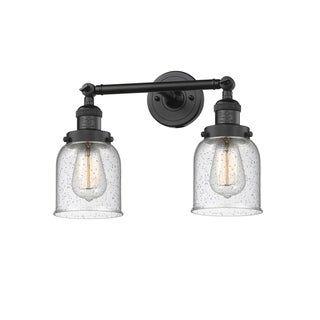 Photo of Innovations lighting innovations lighting small bell 1 lamp (vintage filament light bulb included / light bulbs included / LED dimmable – shabby – matt black