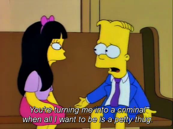 """The 100 Best Classic Simpsons Quotes: From """"Bart's Girlfriend"""" (Season 6, Episode 7)"""