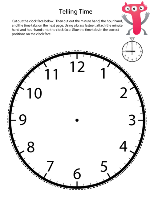 Advanced Telling Time Clock