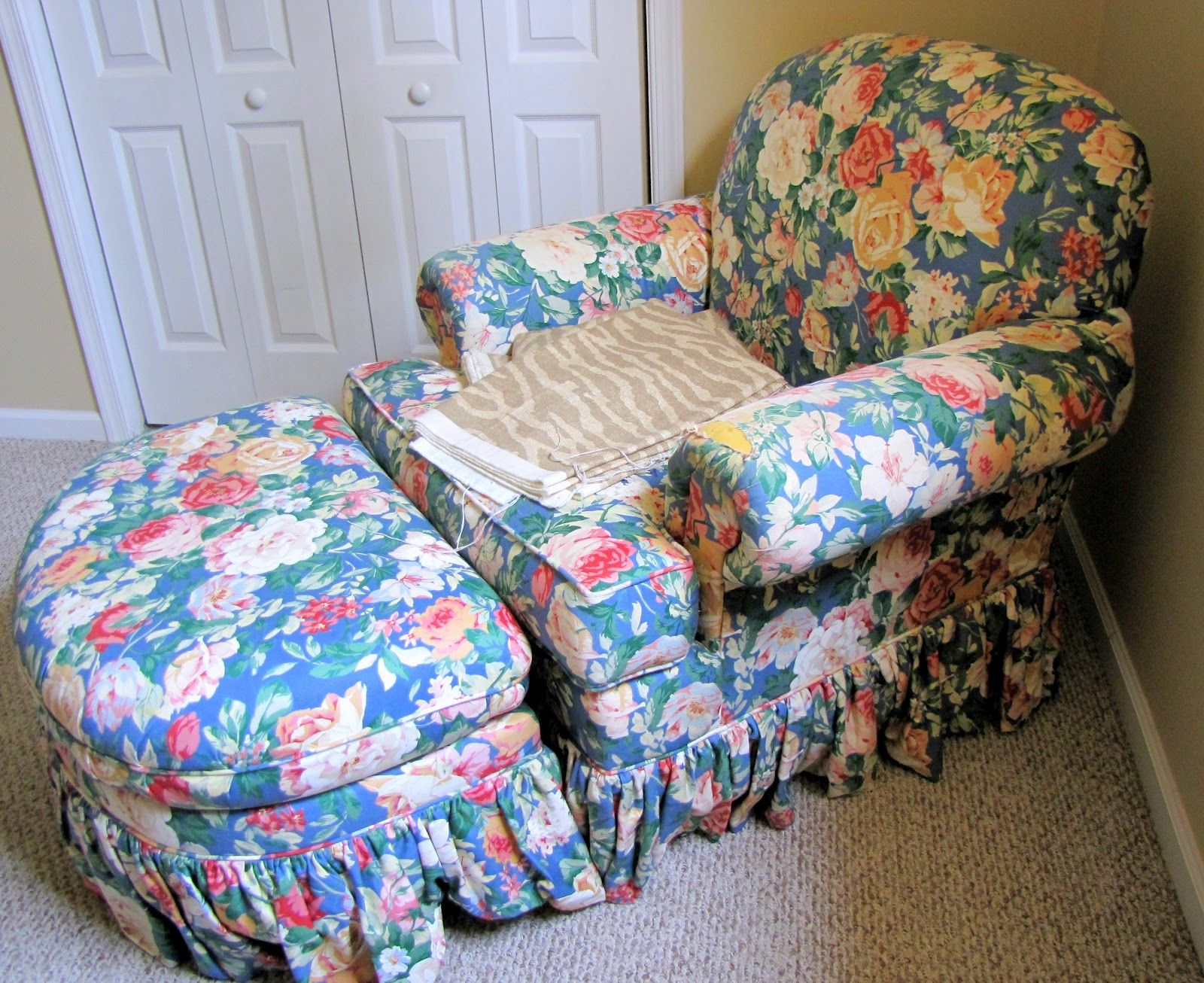Chair And A Half Slipcover Slipcovers For Chairs Chair And A Half Overstuffed Chairs
