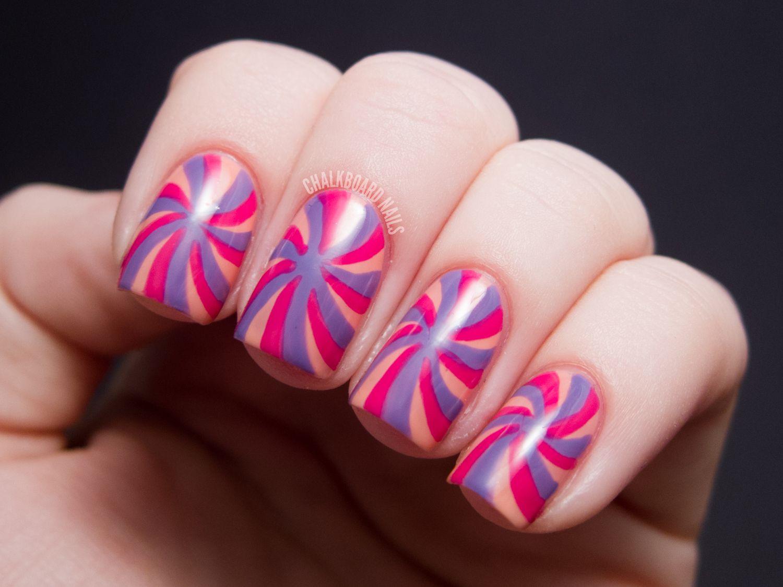 spinwheel nail art #prom   nailed it   Pinterest   Selena gomez ...