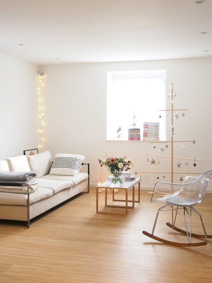 Weihnachtlich Interiors and Lights - einrichtungsideen wohnzimmer beige