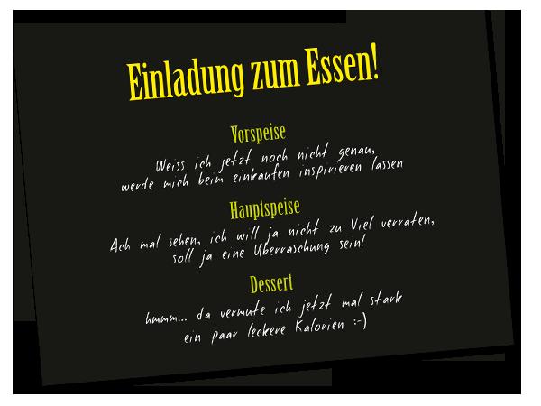 Pin Von Antjelino Auf Geburtstag Einladung Zum Essen Einladungen Gutschein Basteln Essen