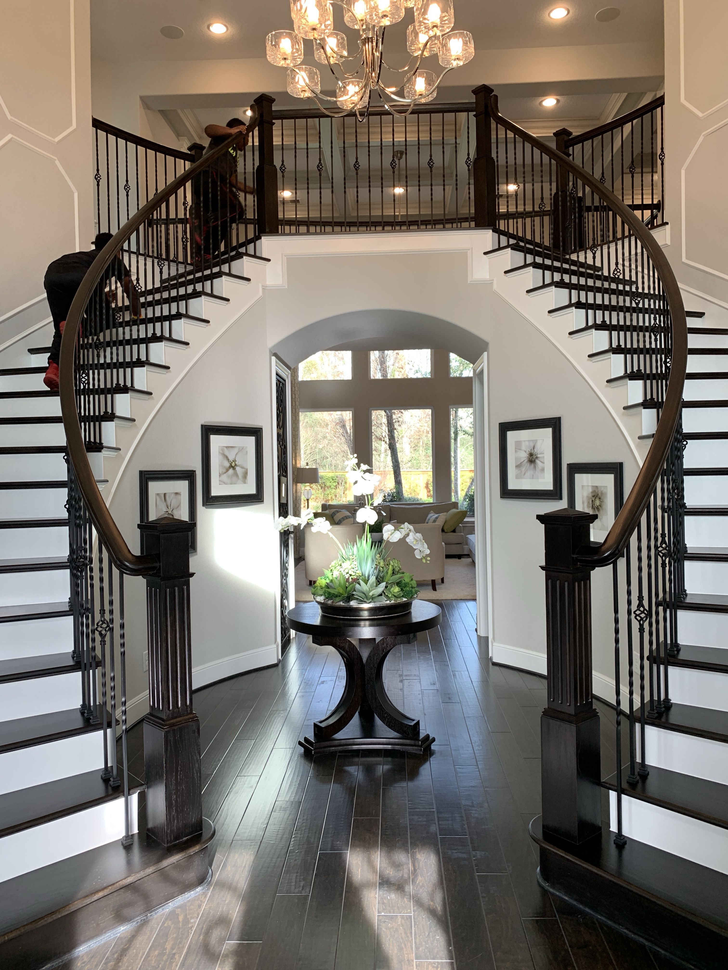 Dream staircase and entry #tollbrothers Toll Brothers ...