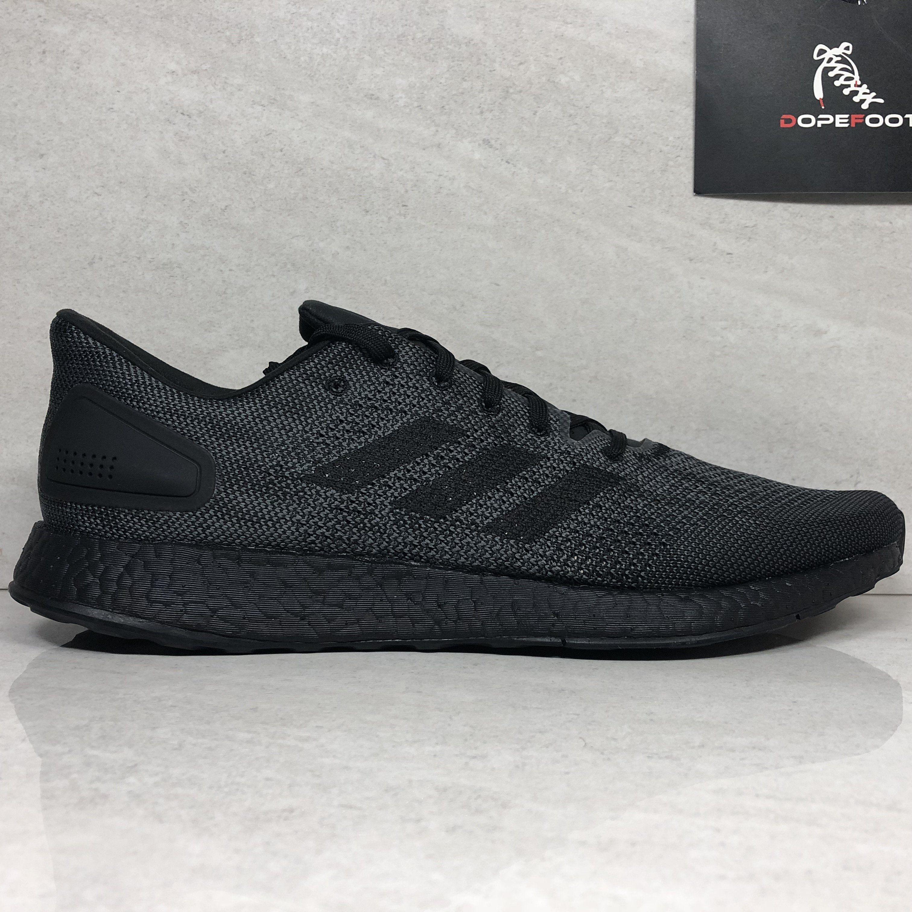 DS Adidas PureBoost DPR LTD Size 13 Triple Black BB6303