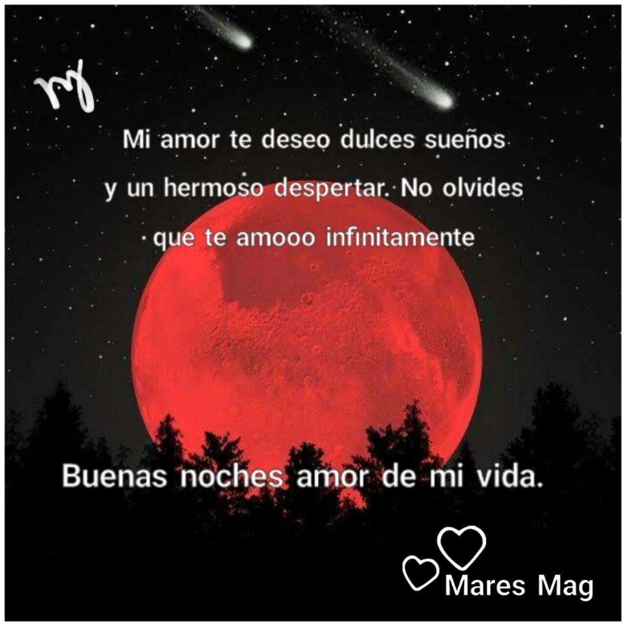 Buenas Noches Amor Feliz Noche Amor Buenas Noches Amor Mio Frases De Buenas Noches Amor