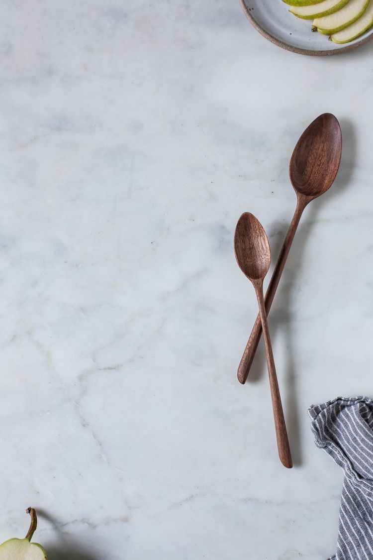 Condiment spoons no. 1 & 2 | Sweet gum, Spoon and Kitchens