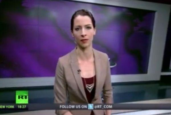 Russia Today Deutsch Moderatorin