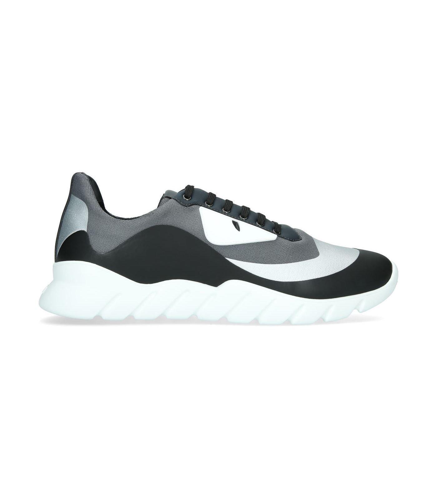 3dd92b962b8bd FENDI MONSTER EYES RUNNER SNEAKERS.  fendi  shoes