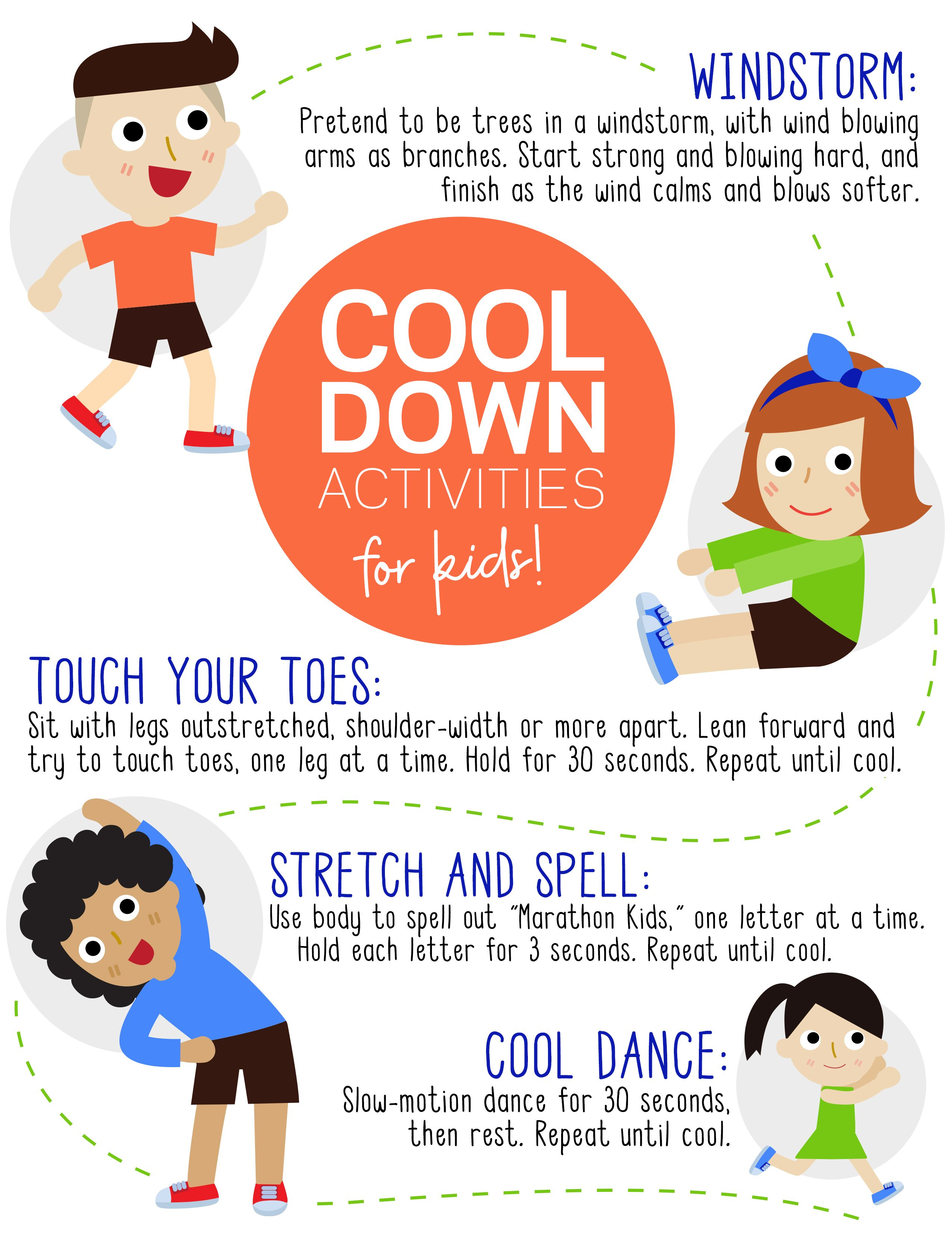 23 Cool Down Activities For Kids