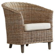Biscayne Woven Arm Chair