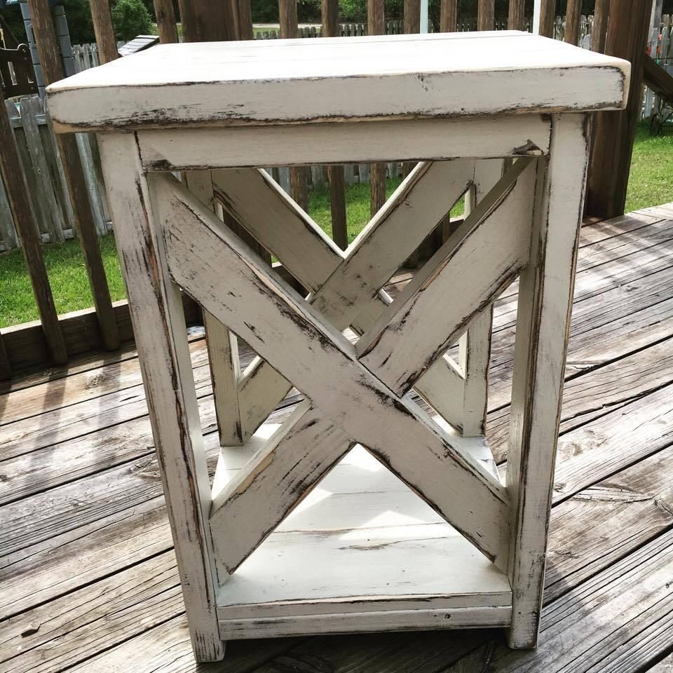 Farm Style End Tables Or Side Tables Furniture Pinterest