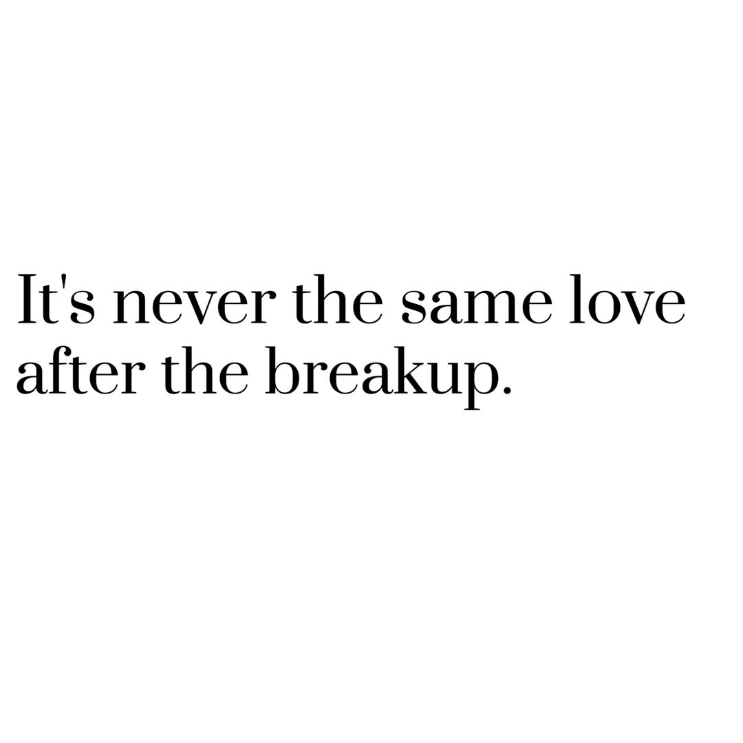 The Breakup LANY