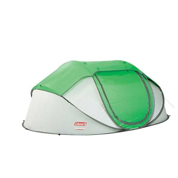Coleman Popup 4 Tent 9 25x6 5 Foot Green Lght Gry