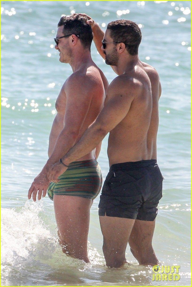 Luke Evans & Boyfriend Victor Turpin Bare Their Shirtless Bodies ...