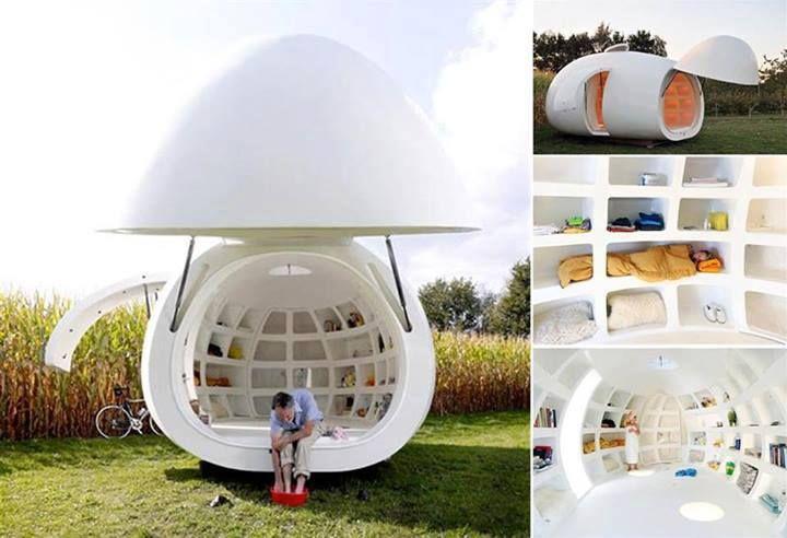 Blob Mobili ~ Blob mobile home tiny