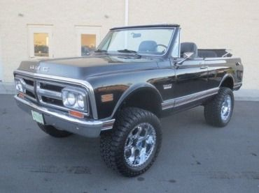 1977 Gmc Jimmy High Sierra 4x4 Convertible 1 Family Owned Like K5 Blazer Classic Gmc Jimmy 1977 For Sale Gmc Classic Gmc K5 Blazer