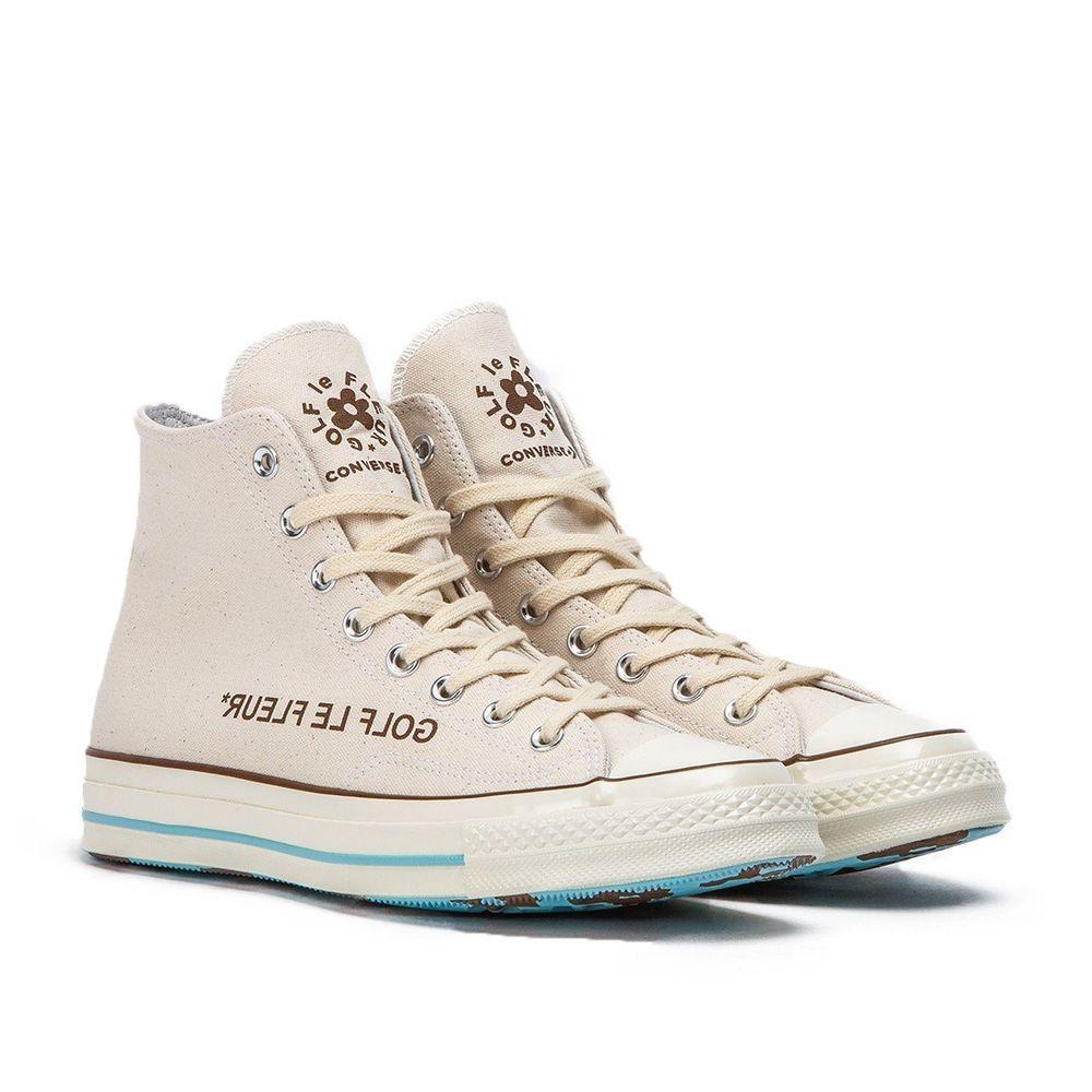 Converse Chuck Taylor All Star 70s Hi Golf Le Fleur Parchment Size 10 5 Fashion Clothing Shoes Accessori Golf Le Fleur Shoes Cheap Vans Shoes Golf Le Fleur