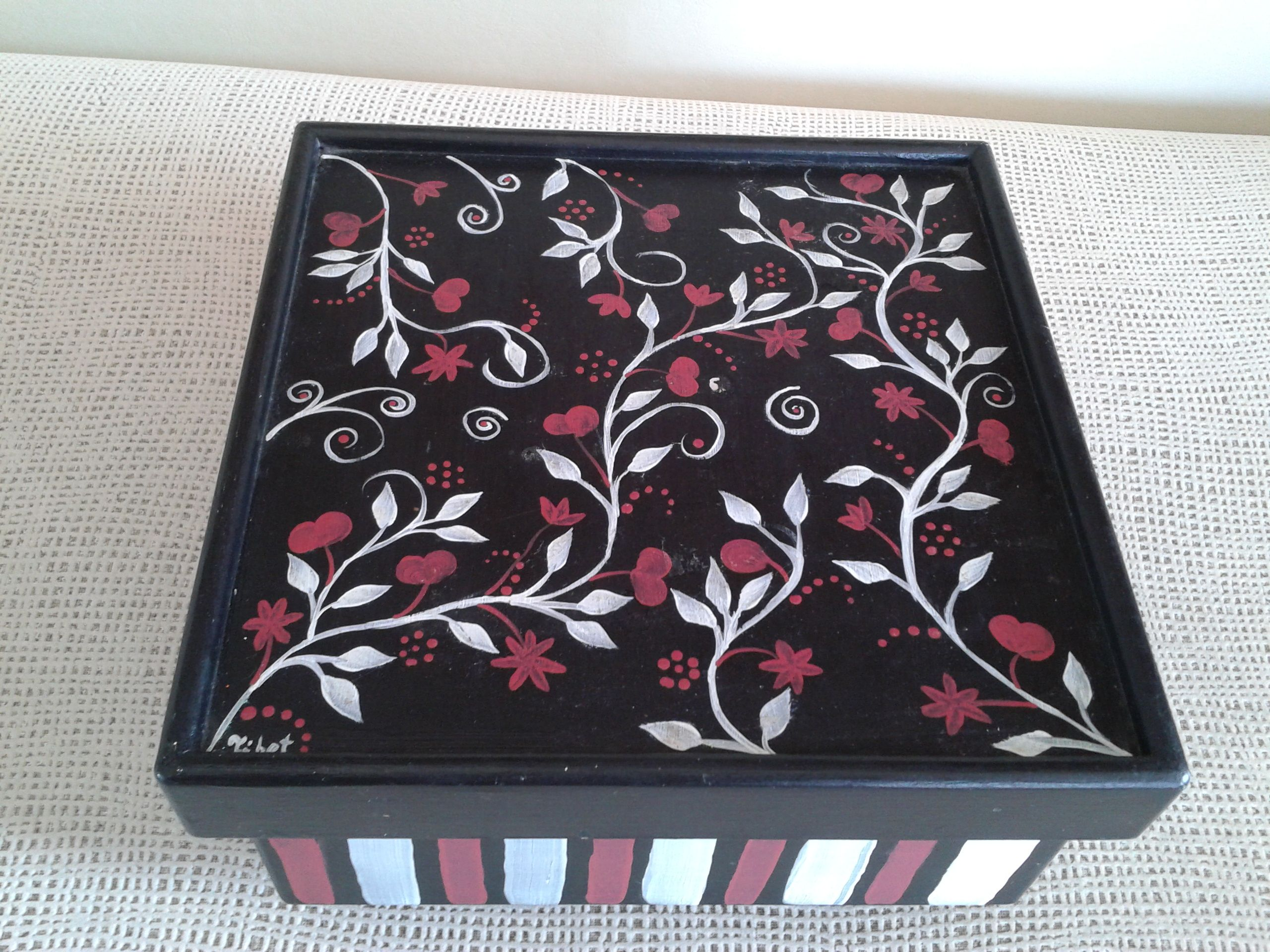Hand painted wooden box painted wooden boxes hand
