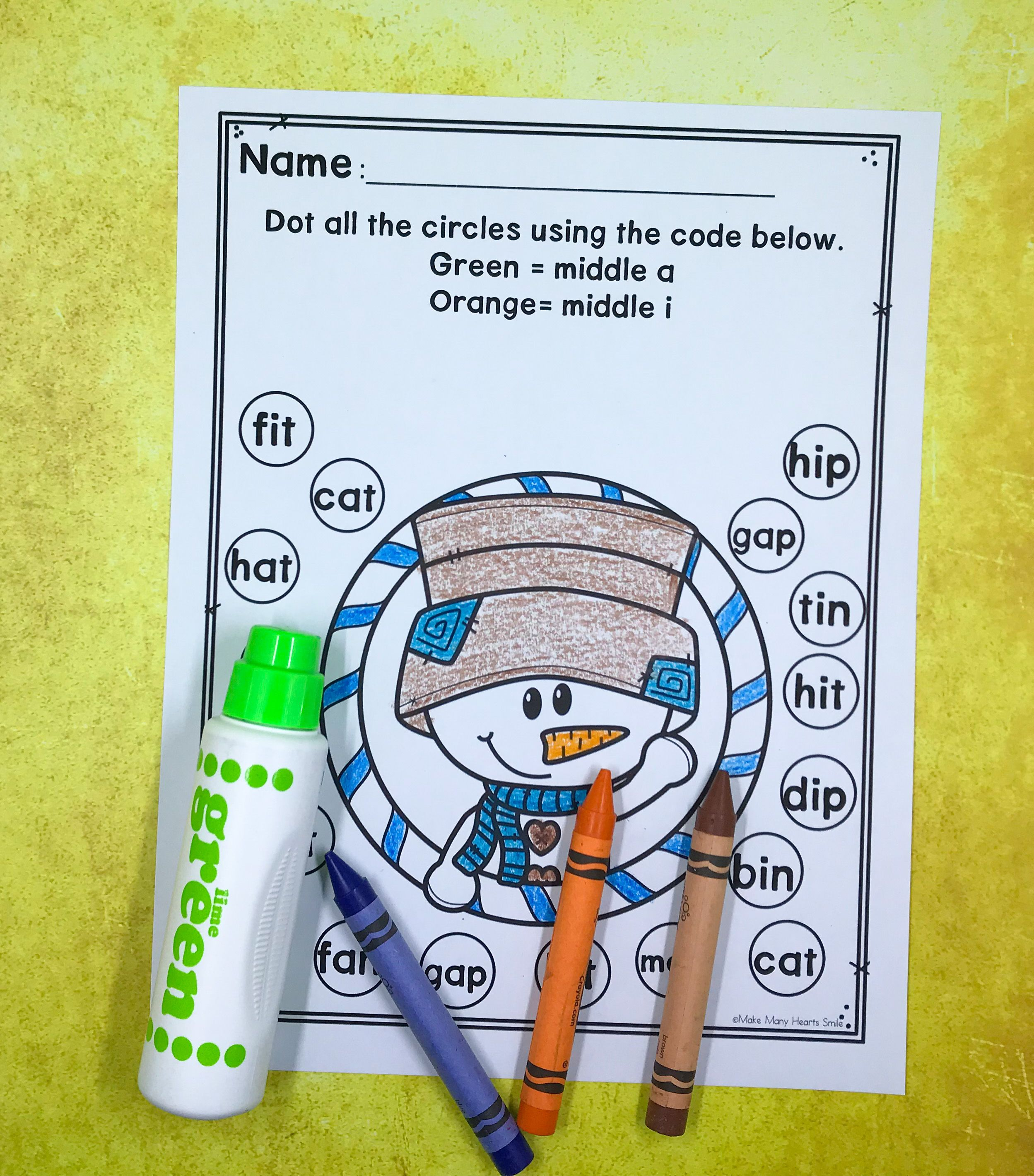 Fun For The Kids And Editable For You Worksheets To