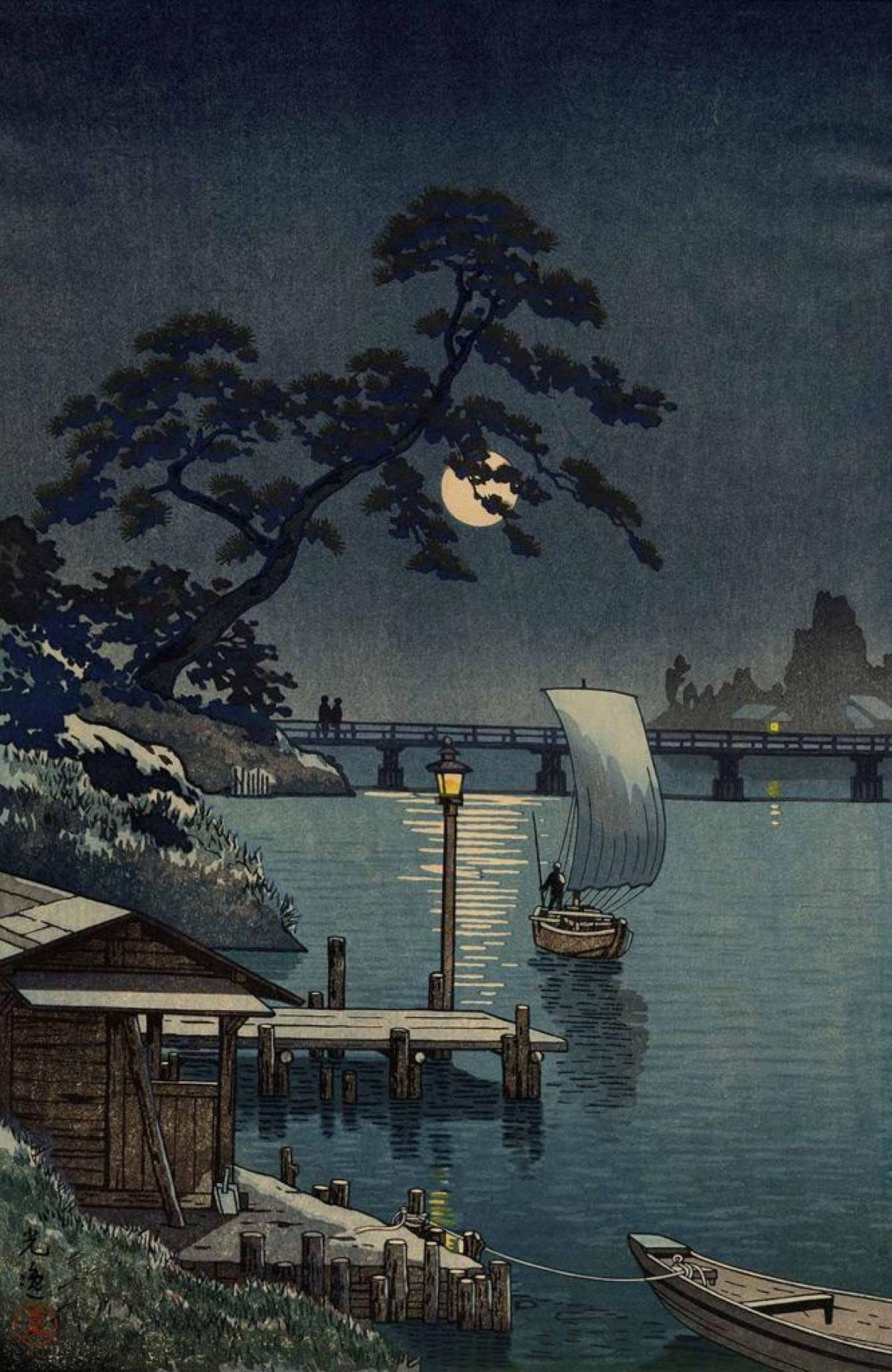 pin oleh brad van fossen di i love japan pemandangan khayalan pemandangan seni jepang