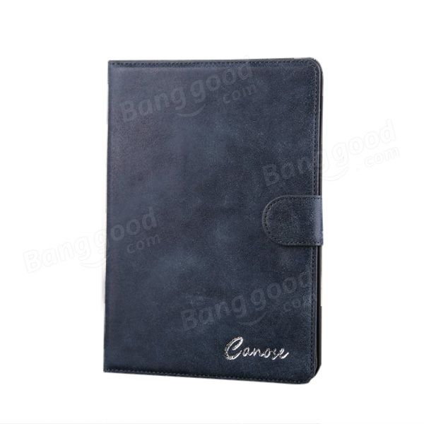 PU Luxus Retro Scrub Mappen Schlag Standplatz Fall für iPad mini 1 2 - US$12.65