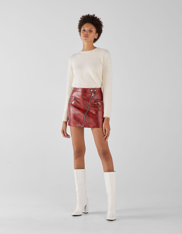28522c4686250 Wide-leg high-heel boots